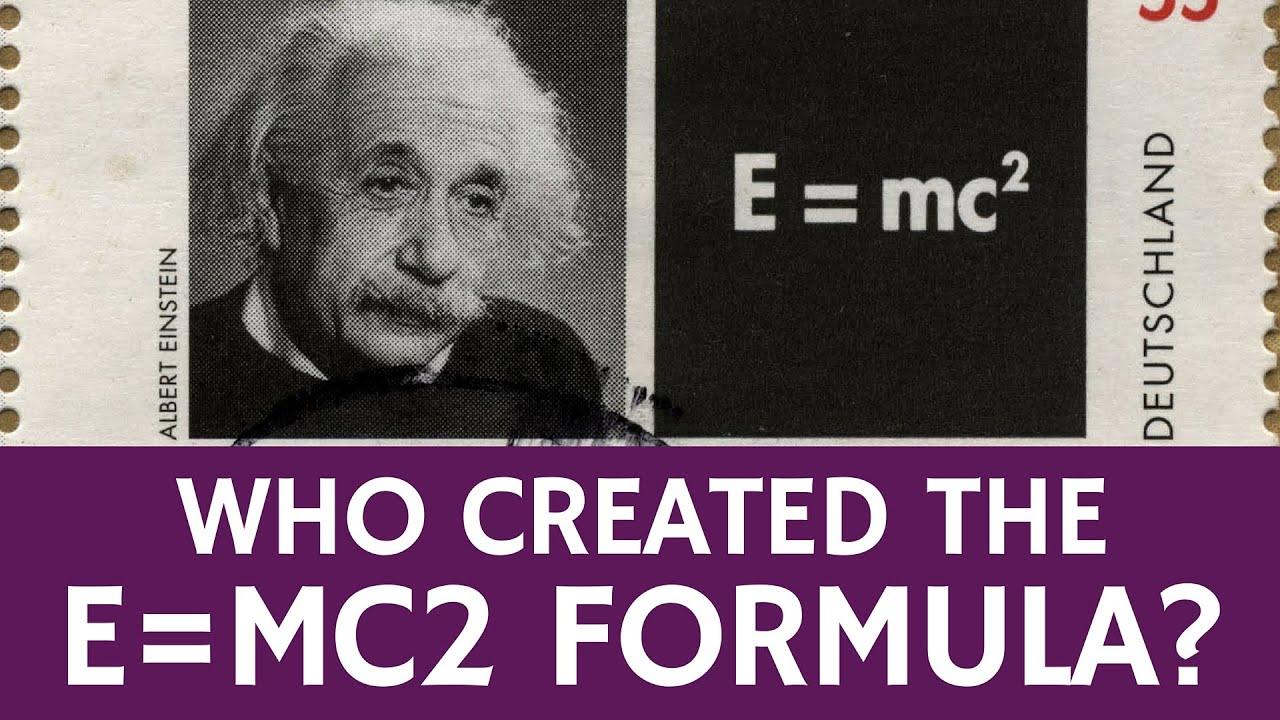 Albert Einstein Equations E Mc2