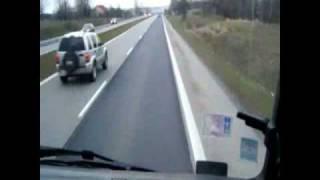 Жуткая авария!Пешехода раздавил грузовик!crazy crash!!!