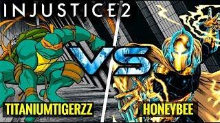 HIS MIX IS TOO GOOD! Titaniumtigerzz (Michelangelo) vs HoneyBee (Doctor Fate)