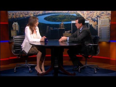"Kathryn Bigelow Defends ""Zero Dark Thirty"" On Colbert"