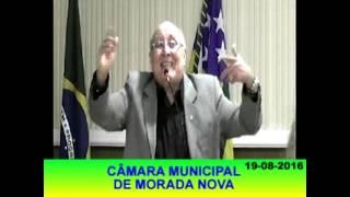 Pronunciamento Dr Cavalcante jr 19 08 16