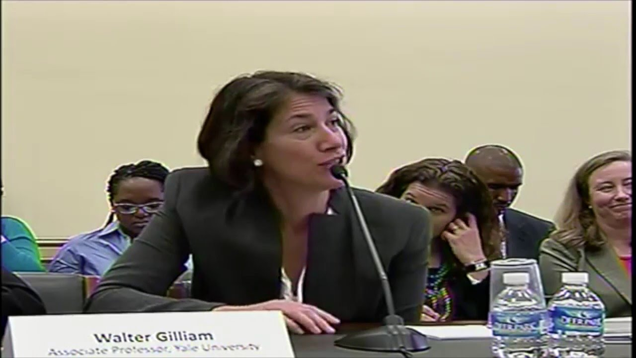 Dr. Gilliam's Testimony to the U.S. House Appropriations Subcommittee