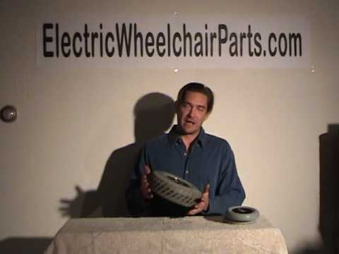 electric wheelchair scooter tires and wheels