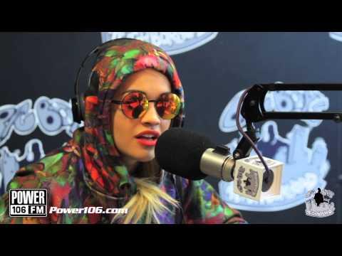 Rita Ora talks hook ups, new drug crazes & the weirdest meal she loves to eat