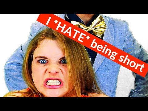 WHY I HATE BEING SHORT || Worried about being short ||  Sabre Norris & The Norris Nuts