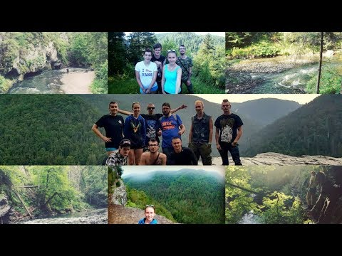Summer trip in the Slovak Paradise National Park