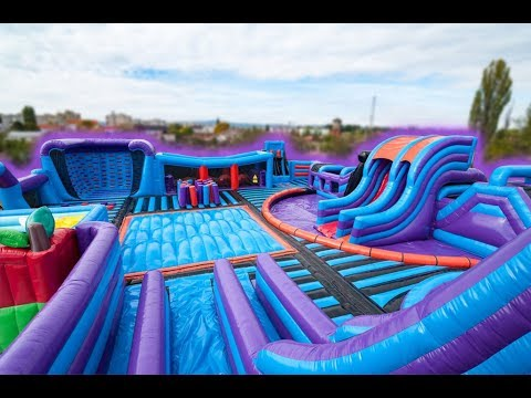 Airquee's Inflatable Theme Park