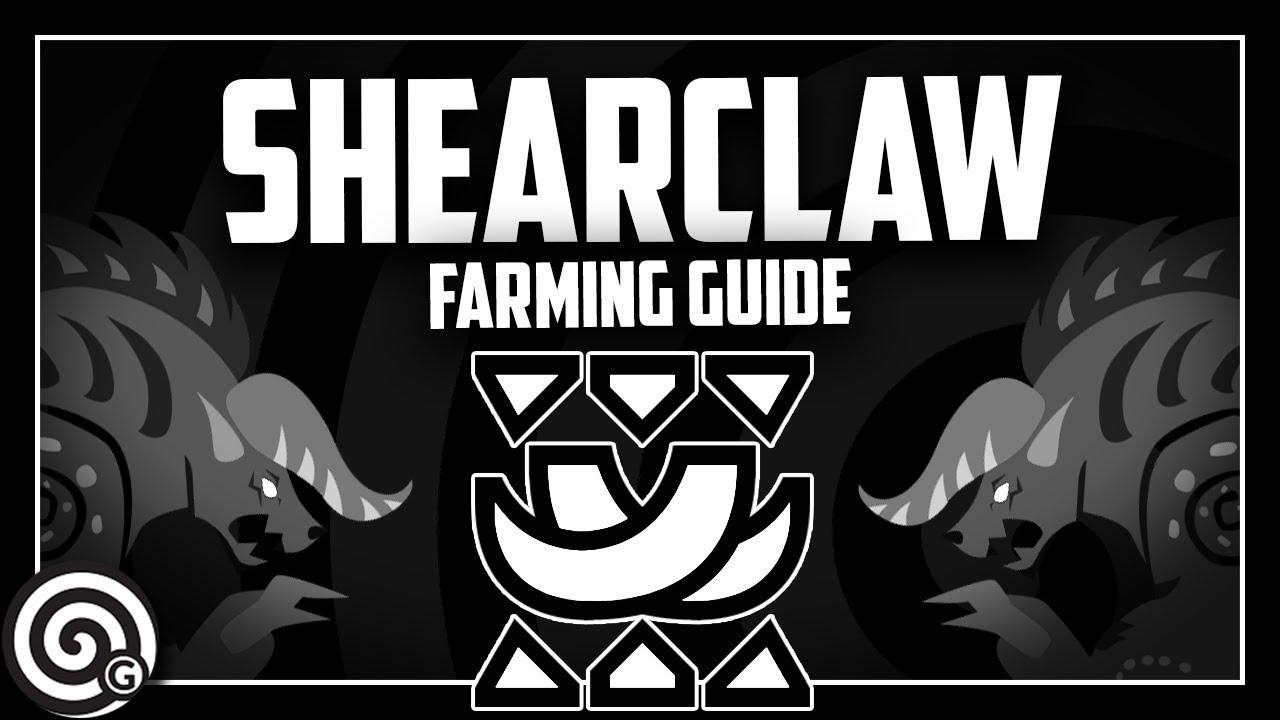 SHEARCLAWS - Farming Behemoth SOLO!? | Monster Hunter World