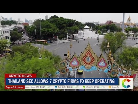 Thailand SEC Allows 7 Crypto Firms To Keep Operating