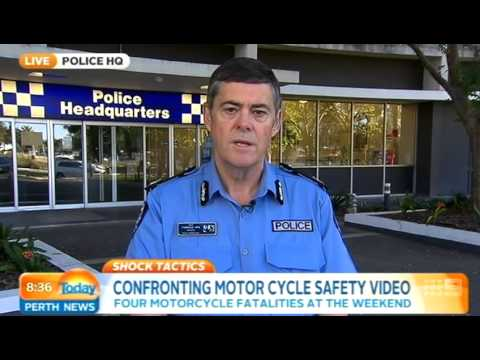 Motorbike Safety - Alf Fordham | Today Perth News