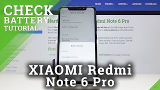 Where to Find Battery Details in Xiaomi Redmi Note 6 Pro – Check Battery Information