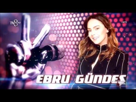 "EBRU GÜNDEŞ O Ses Türkiye Final Vtr ""02.02.2016"" ᴴᴰ"