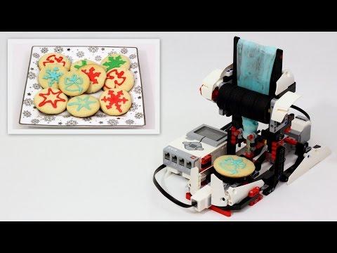 LEGO Mindstorms Cookie Icing Machine