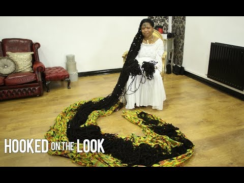 Worlds Longest Dreadlocks Reach 110 FEET | HOOKED ON THE LOOK