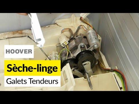 Comment Remplacer les Galets Tendeurs d'un Sèche Linge (Hoover)