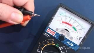 видео Инструкция по ремонту обрыва щупа китайского мультиметра