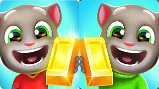 Talking Tom Gold Run Android Gameplay - Pirate Ginger vs Football Tom