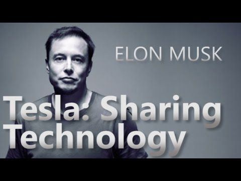 Elon Musk on Patents and sharing technology