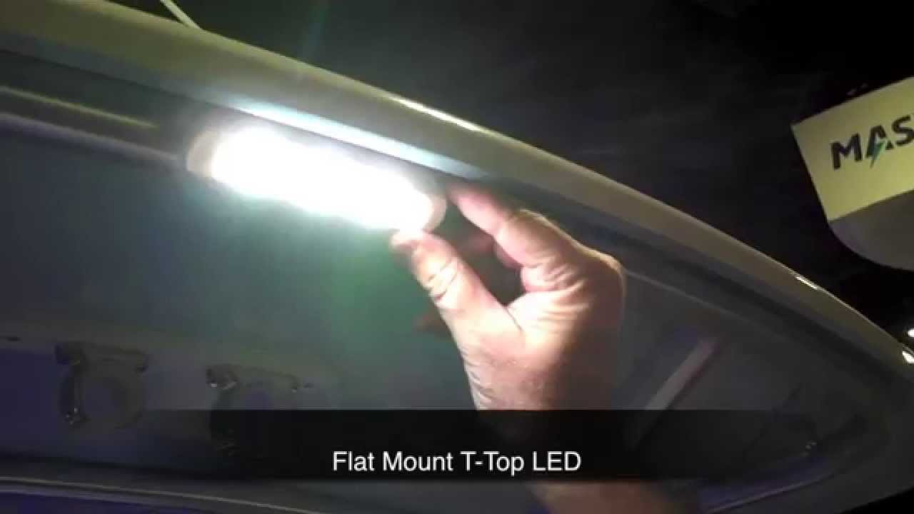 Taco Marine Led Lights For Decks And T Tops Youtube