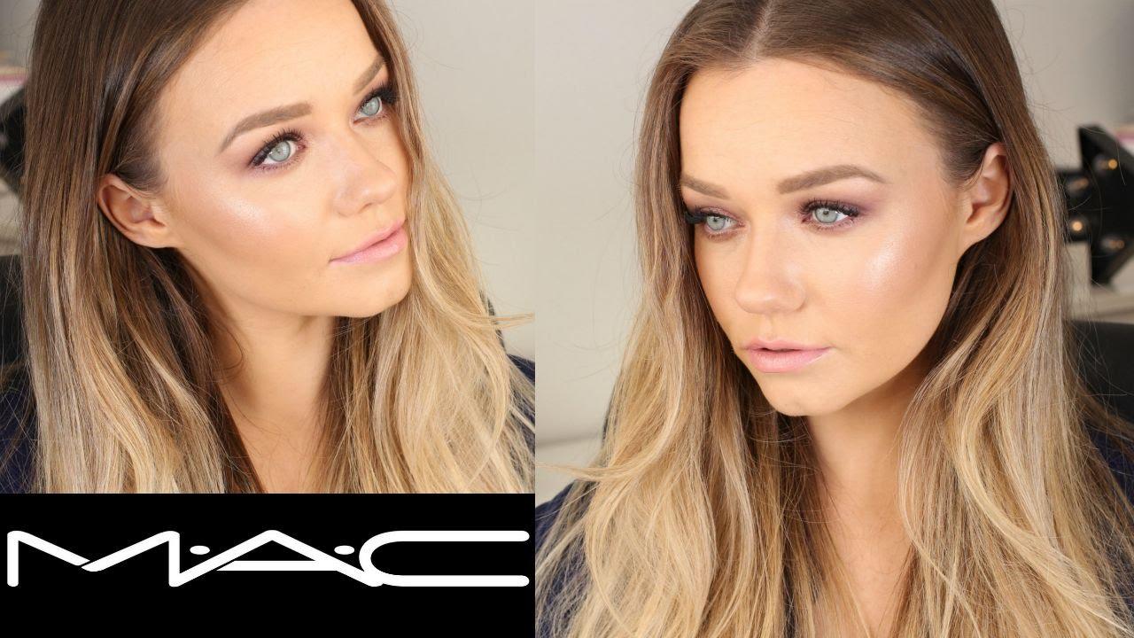 talk through mac cosmetics makeup tutorial burgundy x 9