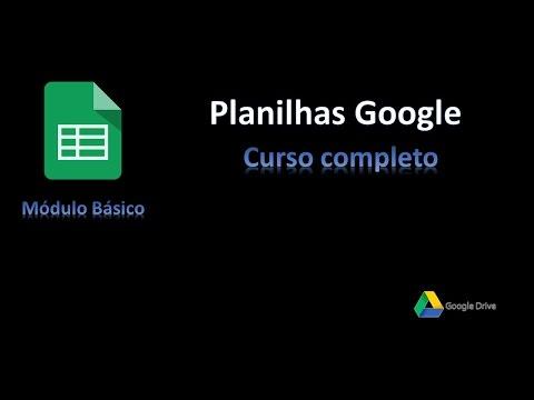 #02 - Planilhas Google Docs - Compartilhar planilha e edição simultânea