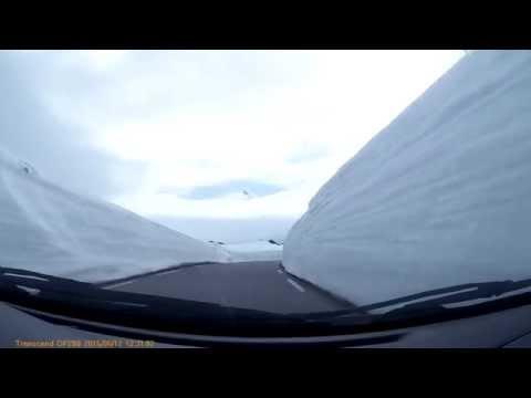 Snowroad fv243 Aurlandsvegen 12-06-2015
