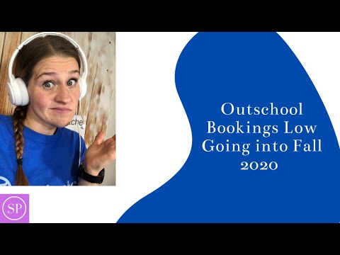 Outschool Bookings Low Going into Fall 2020