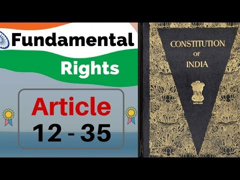 Fundamental Rights of Indian Constitution in hindi - Article