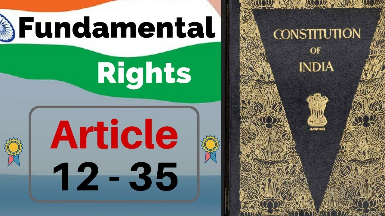 Fundamental Rights of Indian Constitution in hindi - Article 12-35 | Indian  Polity by M Lakshmikanth