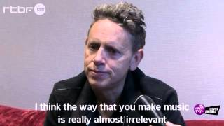 "Martin L. Gore - Interview about ""Delta Machine"" (English subtitles, 2013)"