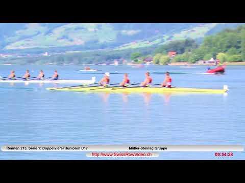228, BJM4x, Serie 1, Sarnen, 10  Juni, 2018, Doppelvierer Junioren U17 Rennen 213
