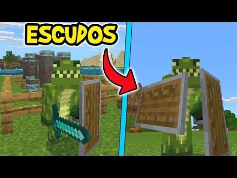 COMO TENER LOS ESCUDOS EN Minecraft Xbox One/PE/W10 Actualización Nueva
