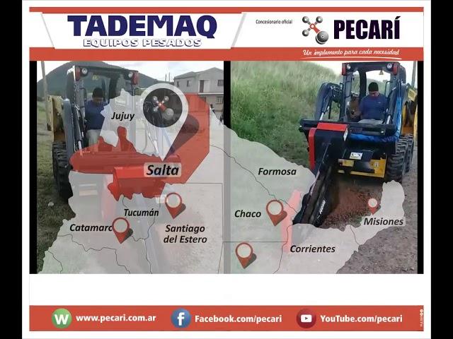 Zanjadora entregó Tademaq en Salta | Julio 2018
