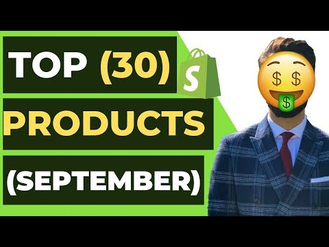 Top 30 WINNING Products In SEPTEMBER 2019 | Shopify Dropshipping thumbnail