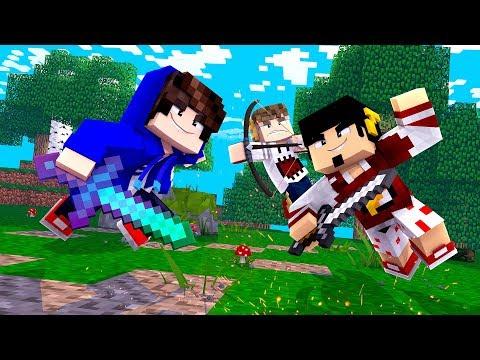 Minecraft: A PRIMEIRA BATALHA ENTRE OS CLÃS BREAKMEN !! - NEXUS CLANS Ep. 5 ‹ DENGOSO ›