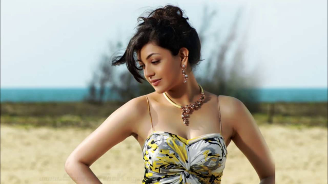 kajal aggarwal hot hd photoshoot - youtube
