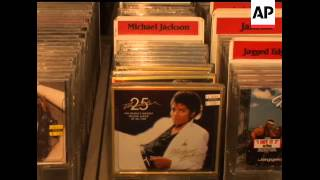 Sales of Michael Jackson merchandise and memorabilia has spiked since the King of Pop's death
