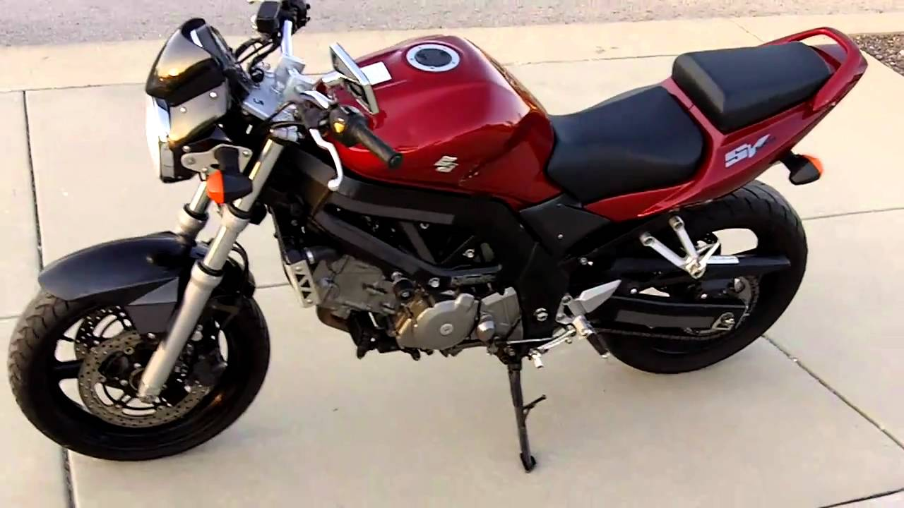 2006 Suzuki SV650 SV 650 for sale - YouTube