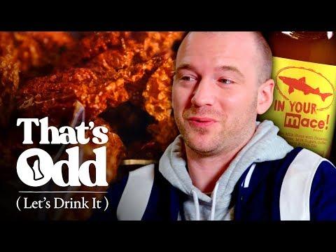 Sean Evans Tastes Mace-Infused Spicy Beer | That's Odd, Let's Drink It