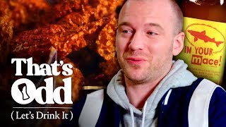 Sean Evans Tastes Mace-Infused Spicy Beer | That's Odd, Let's Drink It