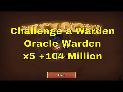 Castle Clash Challenge A Warden Oracle Warden