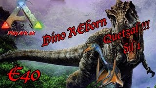 Обложка на видео о ARK : Survival Evolved : Dino REborn E40 - Quetzal díl 1(CZ/SK)