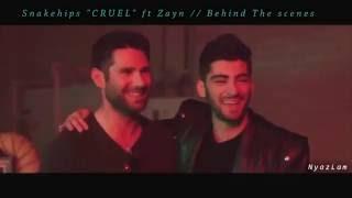"Snakehips ""CRUEL"" ft zayn // Behind The Scenes"