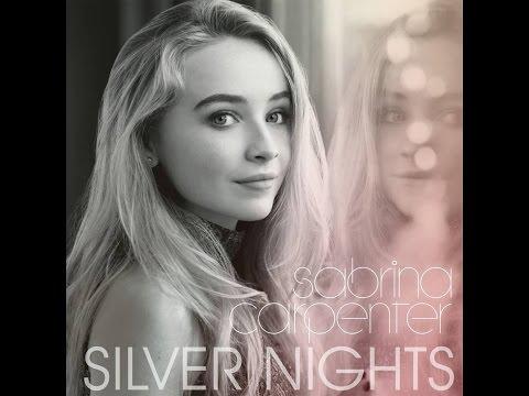 SILVER NIGTHS - Karaoke - Sabrina Carpenter