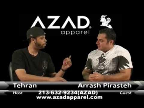 Tehran interview with Designer Arrash Pirasteh ( Azad Apparel ) _Episode_01