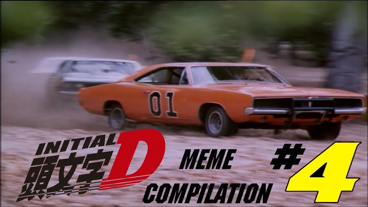 INITIAL D MEME COMPILATION #4 - YouTube