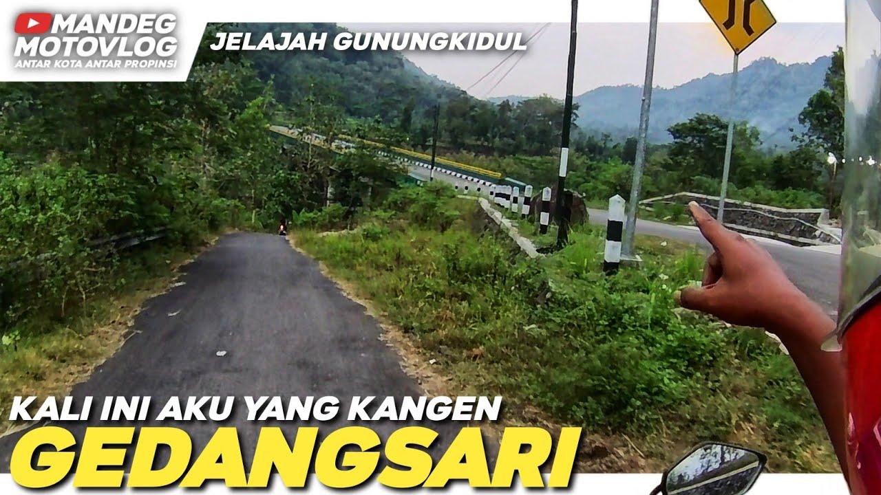 Jembatan Gedangsari Diperbaiki - Vlog Clongop Gedangsari Mei 2021