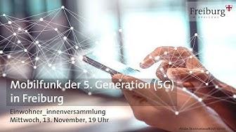 Mobilfunk der 5. Generation (5G) - Einwohner_innenversammlung (13.11.2019)