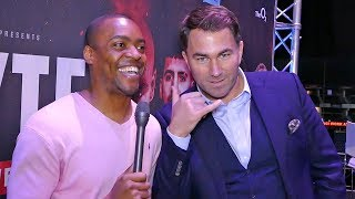 EDDIE HEARN Wants to PROMOTE MMA! Makes PITCH to CONOR MCGREGOR!!
