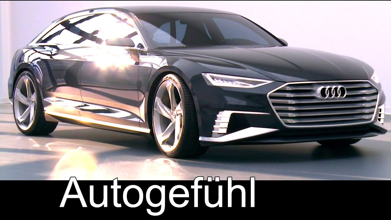 audi a9 prologue avant concept with wireless charging doovi. Black Bedroom Furniture Sets. Home Design Ideas